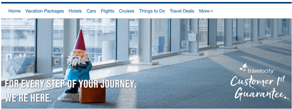 cheap airfare deals from Travelocity