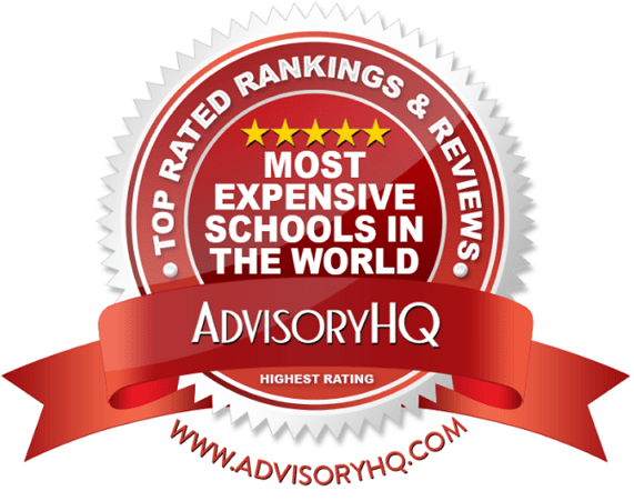 Most Expensive Schools In The World Red Award Emblem