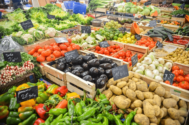 picture of vegetables for american farmer