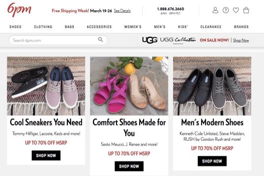 best online shoe store