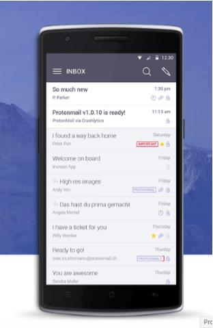 proton mail - secure webmail