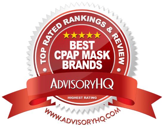 Best CPAP Mask Brands Red Award Emblem