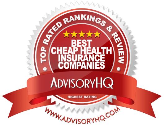 Best Cheap Health Insurance Companies Red Award Emblem