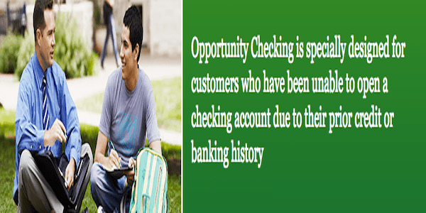 Wells Fargo Opportunity Checking - Top Second Chance Checking Accounts