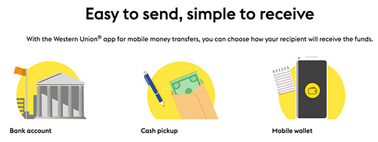 western union money transfer app