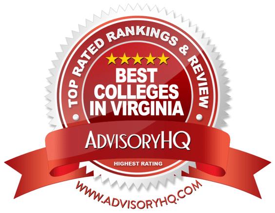 Best Colleges in Virginia Red Award Emblem