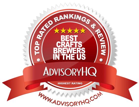 Best Craft Brewers in the U.S. Red Award Emblem