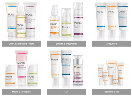 Murad Skin Care Products Worth