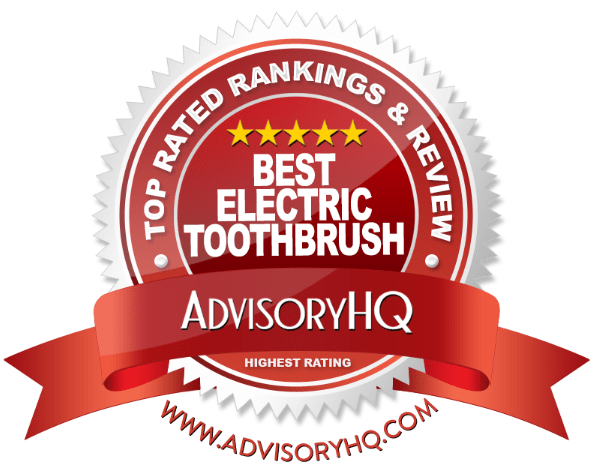 Best Electric Toothbrush Red Award Emblem