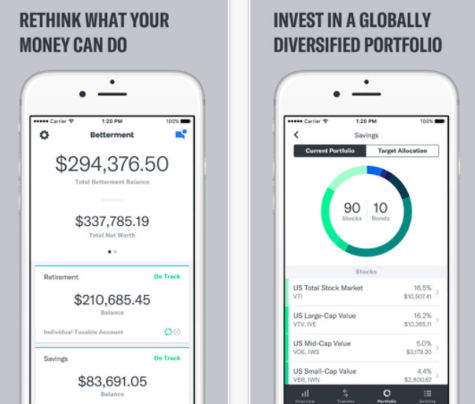 Betterment best investment apps for beginners
