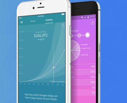 Acorns - money management app