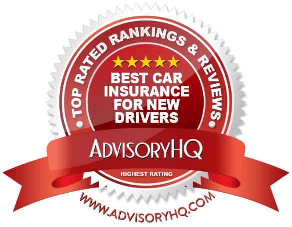 Best Car Insurance For New Drivers Red Award Emblem