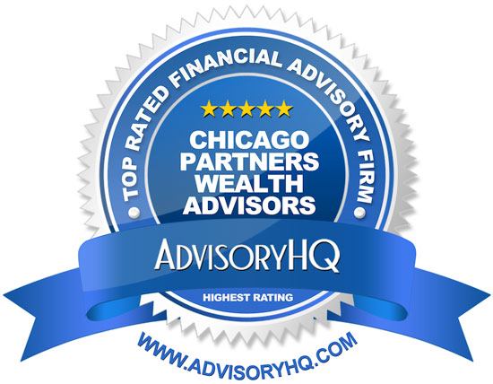 Chicago Partners Wealth Advisors Blue Award Emblem