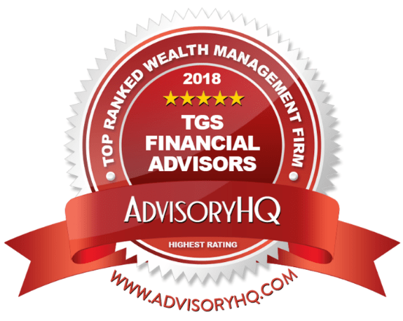 TGS Financial Advisors Award Emblem