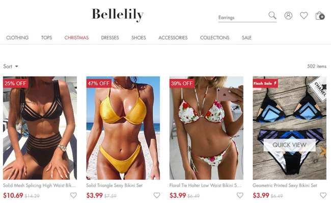 Bellelily clothing