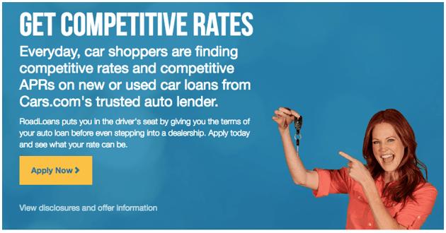 dealerships that accept roadloans