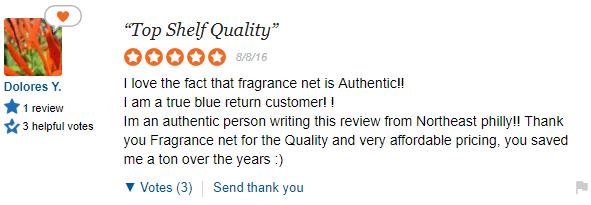 FragranceNet Review on SiteJabber