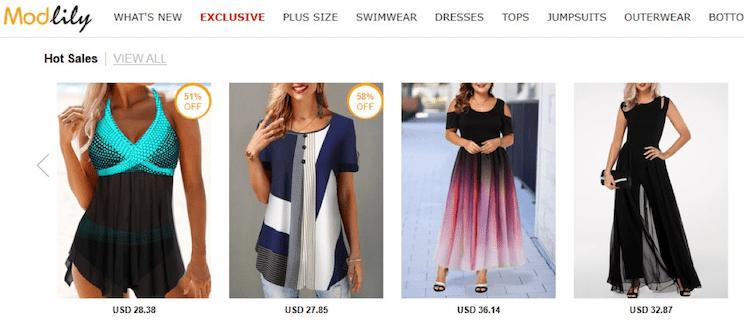 modlily.com clothing reviews
