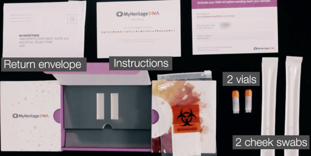 review myheritage dna