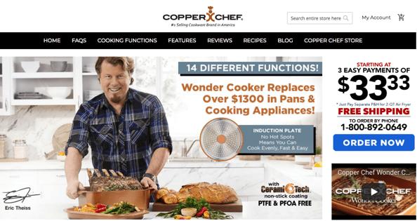 copper chef review