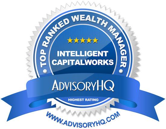 Intelligent Capitalworks Blue Award Emblem