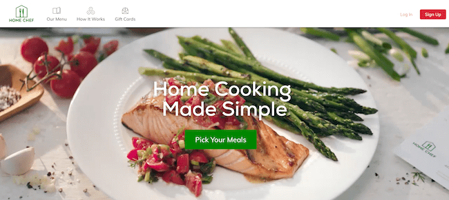 home chef meal delivery service comparison