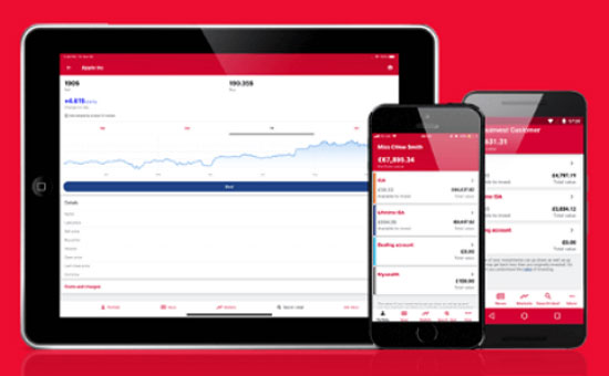 mobile app for best online stock broker uk