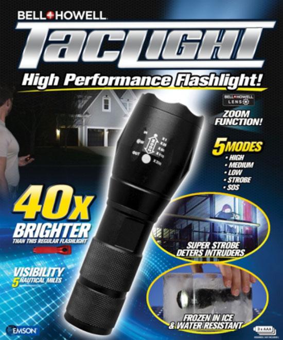 powerful flashlight