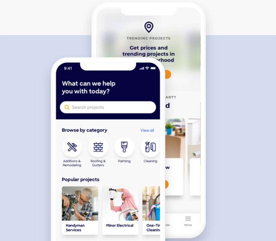 mobile app homeadvisor reviews