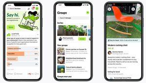 nextdoor mobile app for iOS